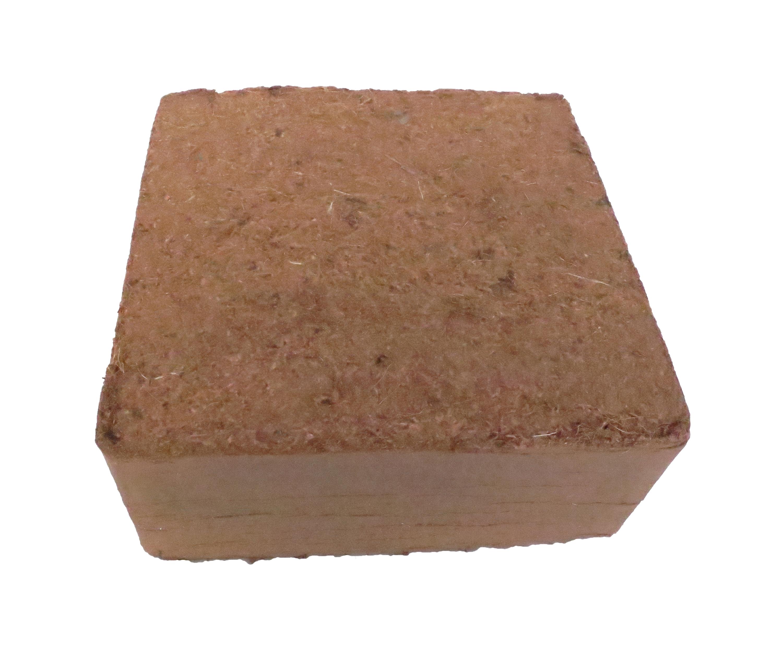 Paillis Noix De Coco brique de fibres de coco pressé 5 x 70 litres, env. 5 kg