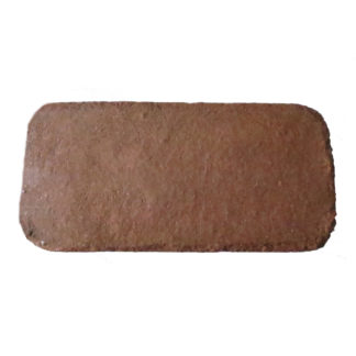 Brique de fibres de coco pressé