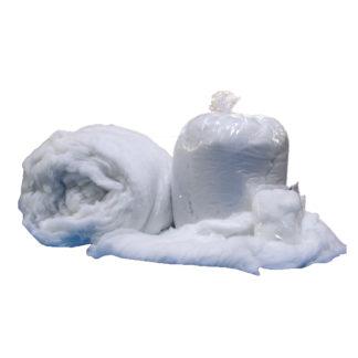 Ouate de neige comme tapis de neige
