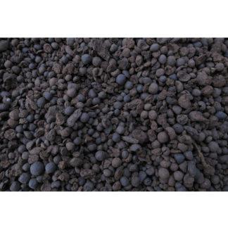 Granulat de tourbe noire