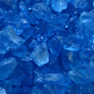 Deko-Eis, Glassteine 4-10 mm, farbig