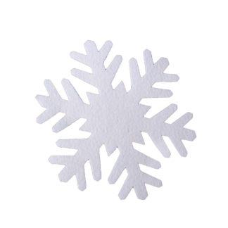 Schneeflocken aus Filz